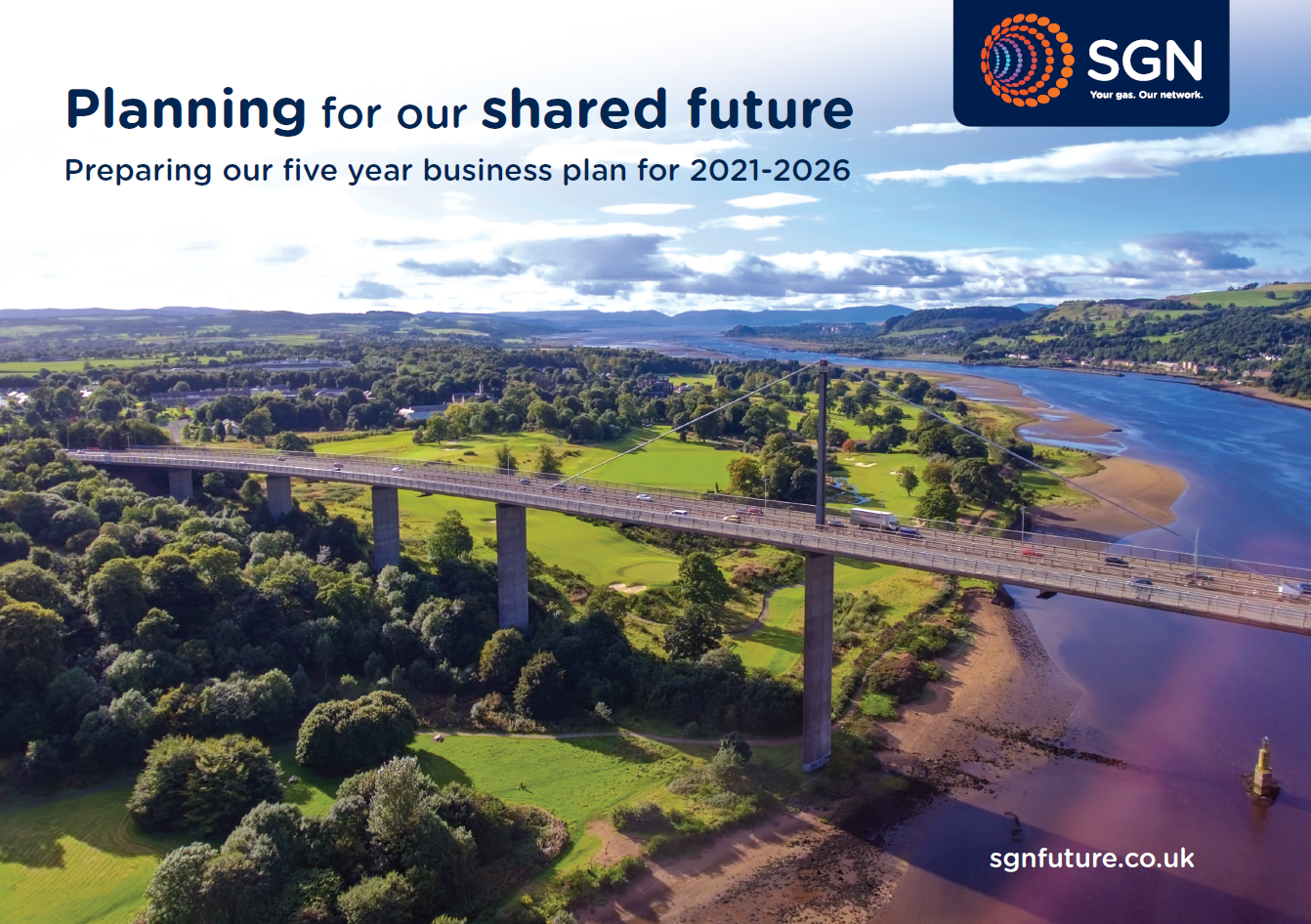 front cover of shared future document